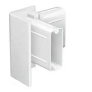 Zubehör für Galerieschienen Click Rail -Eckverbindung in weiß und grau als Galerieschienenzubehör