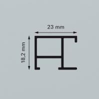 Aluminium-Wechselrahmen 70,0 x 100,0 cm