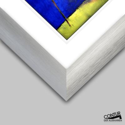 Alu-Bilderrahmen Contur Elegant 500 bietet ein schönes Rahmenprofil