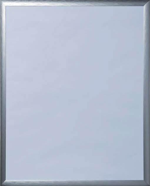 Vorderansicht eines Alu-Bilderrahmen Contur Elegant 500
