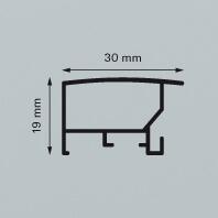 Dieser Alu-Wechselragmen Contur Galerie 300 kann in meheren Farbausführungen geliefert werden.