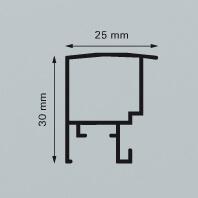 Aluminium-Wechselrahmen 50,0 x 60,0 cm