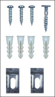 Alurahmen-Diebstahlsicherungen für die meisten Aluminium-Wechselrahmen Varianten