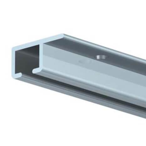 Decken-Galerieschiene Top Rail in der Ausführung silber matt - lieferbar in 200 und 300 cm