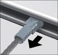 Gleiter und Seile