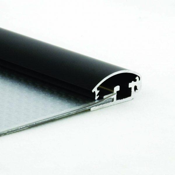 Klapprahmen aus Alu 25 mm schwarz in vielen DIN-Formaten