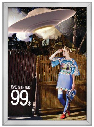 Klapprahmen 20mm mit Gehrung für Plakate und Poster